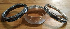 Forged bangles